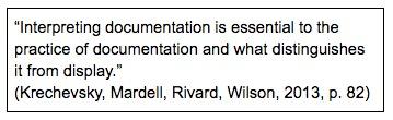 Part 3 interpret documentation